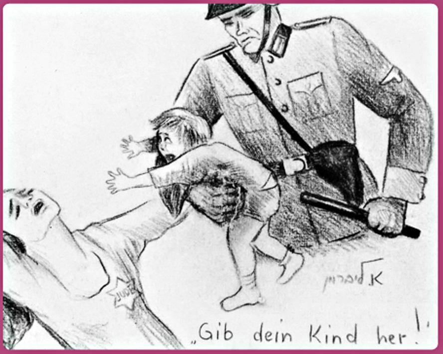 Los niños que vivieron y dibujaron el Holocausto   Kurioso