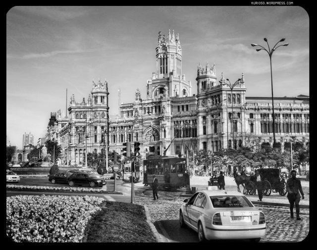 Plaza de Cibeles 1915-2009 (Click para ampliar)